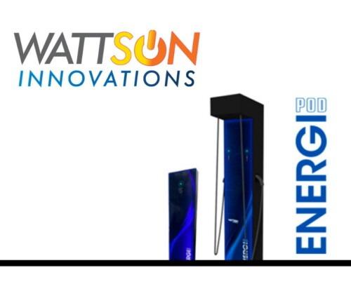 Bornes EnergiPod par Wattsun Innovations